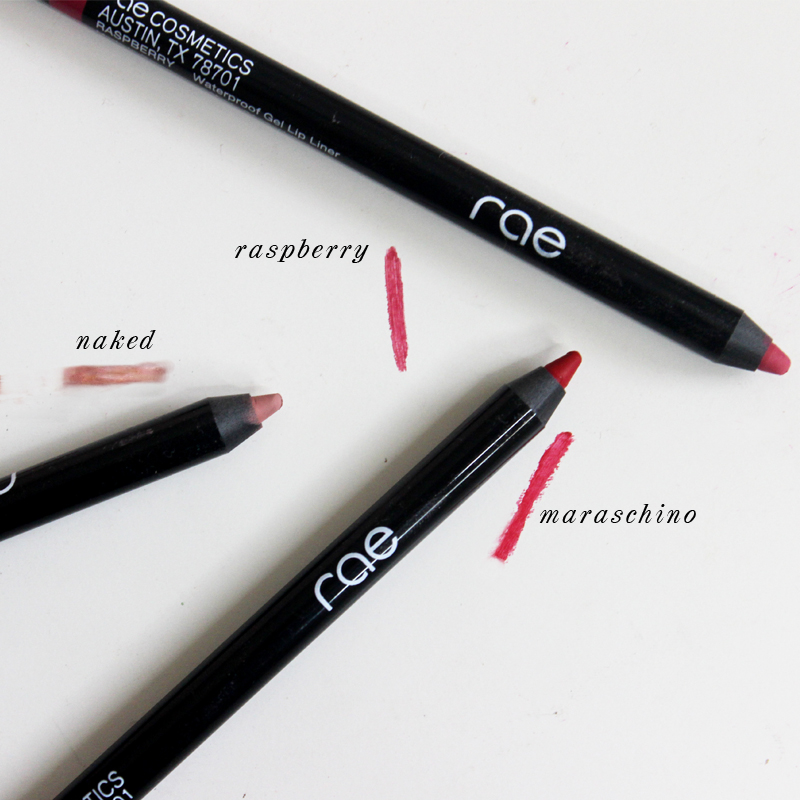 rae cosmetics waterproof lip liner