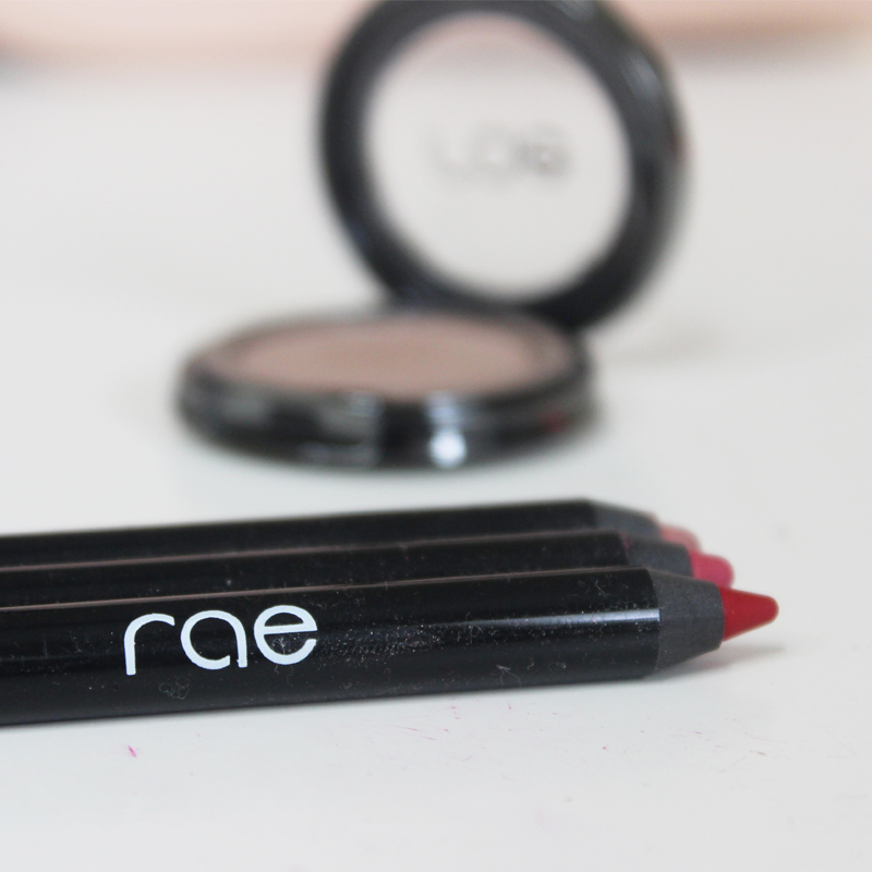 rae cosmetics waterproof lip liners