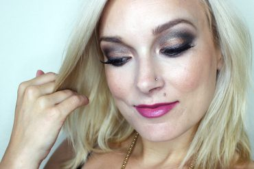 urban Decay Naked Smoky makeup look