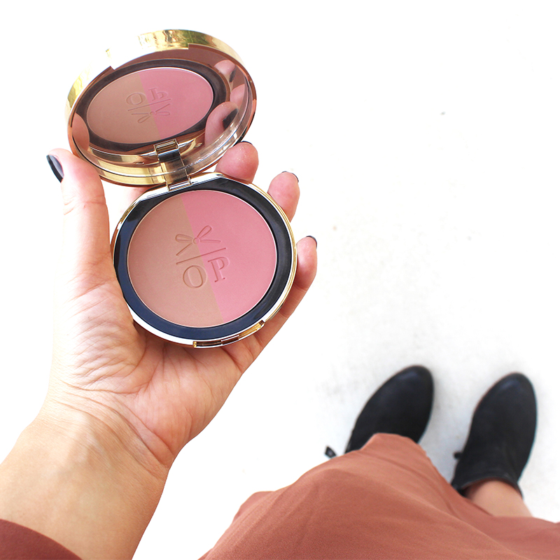 bluff point blush and bronzer duo