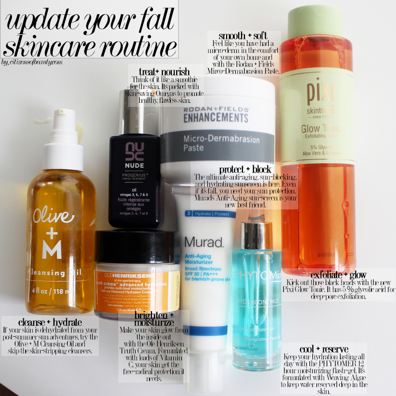 skincare for fall