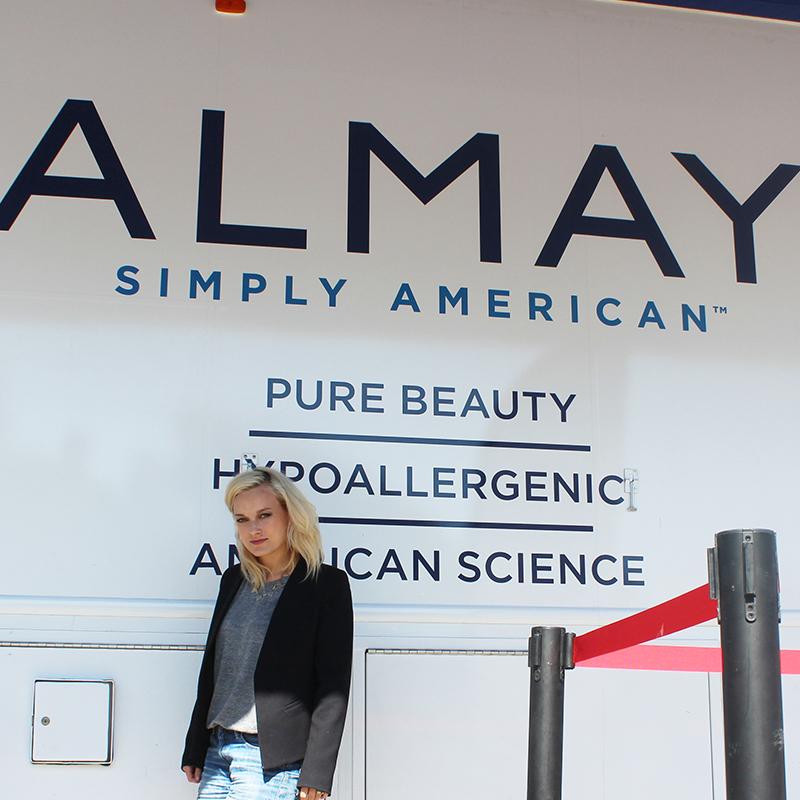 Almay simply american bus tour