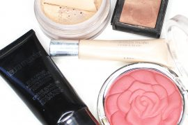 makeup products for highlighting and strobing the face