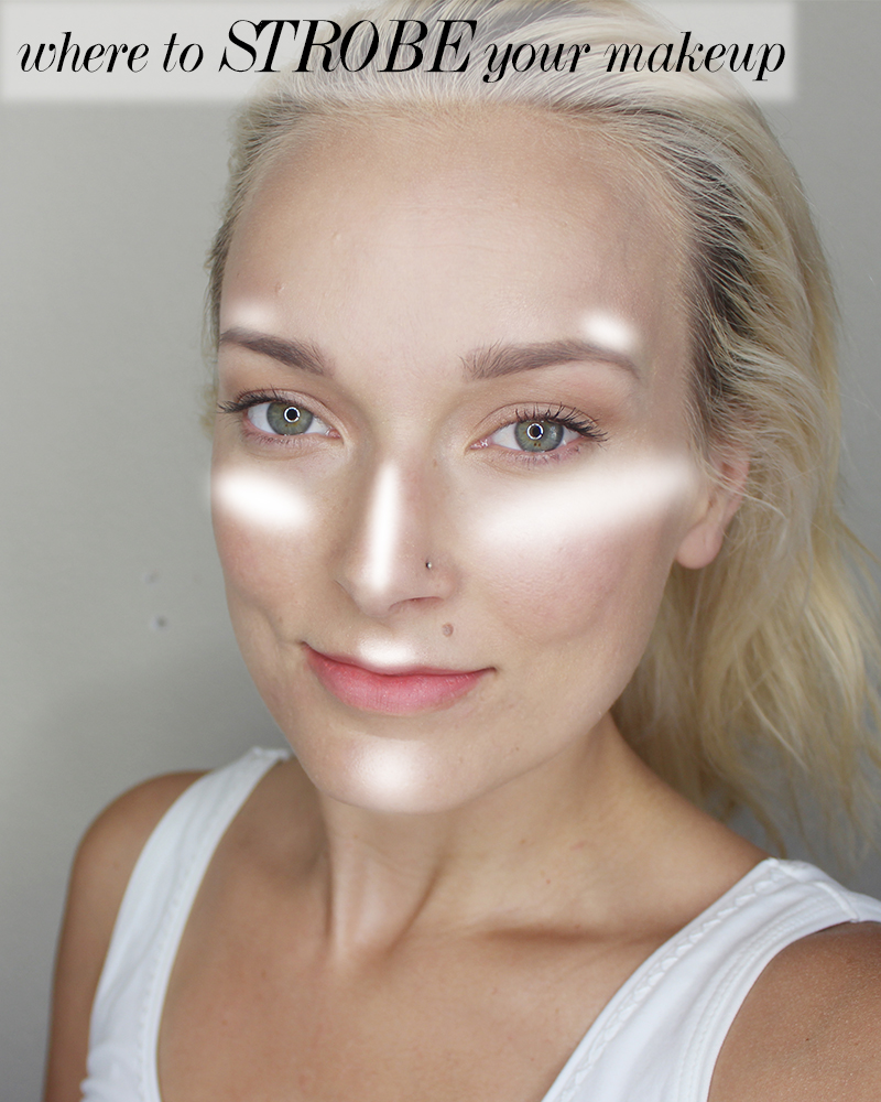 how to strobe your makeup