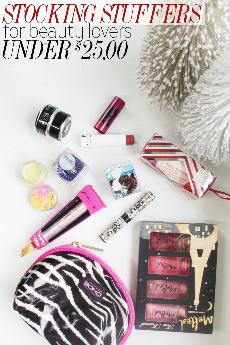 best stylish and gorgeous stocking stuffer ideas for beauty lovers