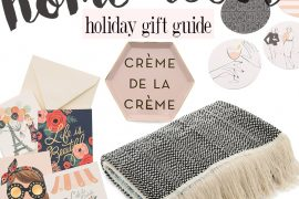home decor holiday gift guide 2015 and holiday sale