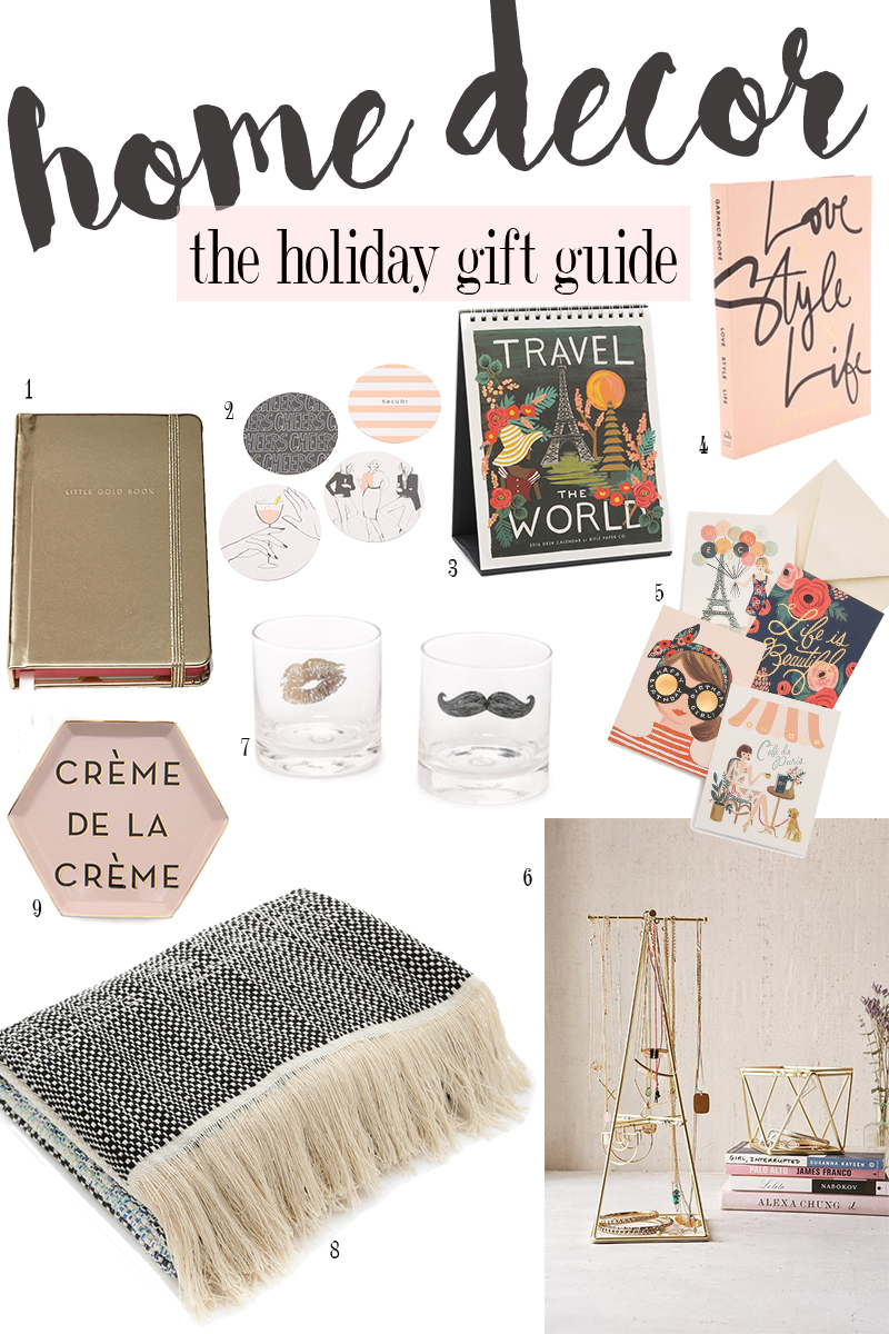 Home decor holiday gift guide and savings citizens of beauty for Home decor gifts