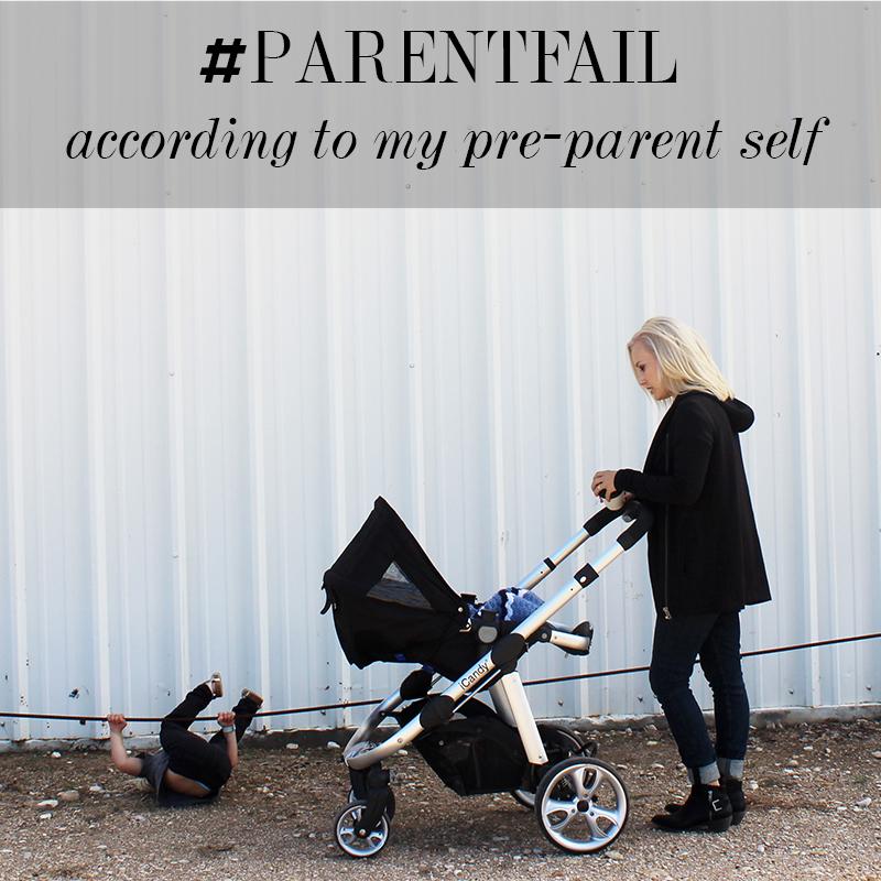 how i fail a parenting