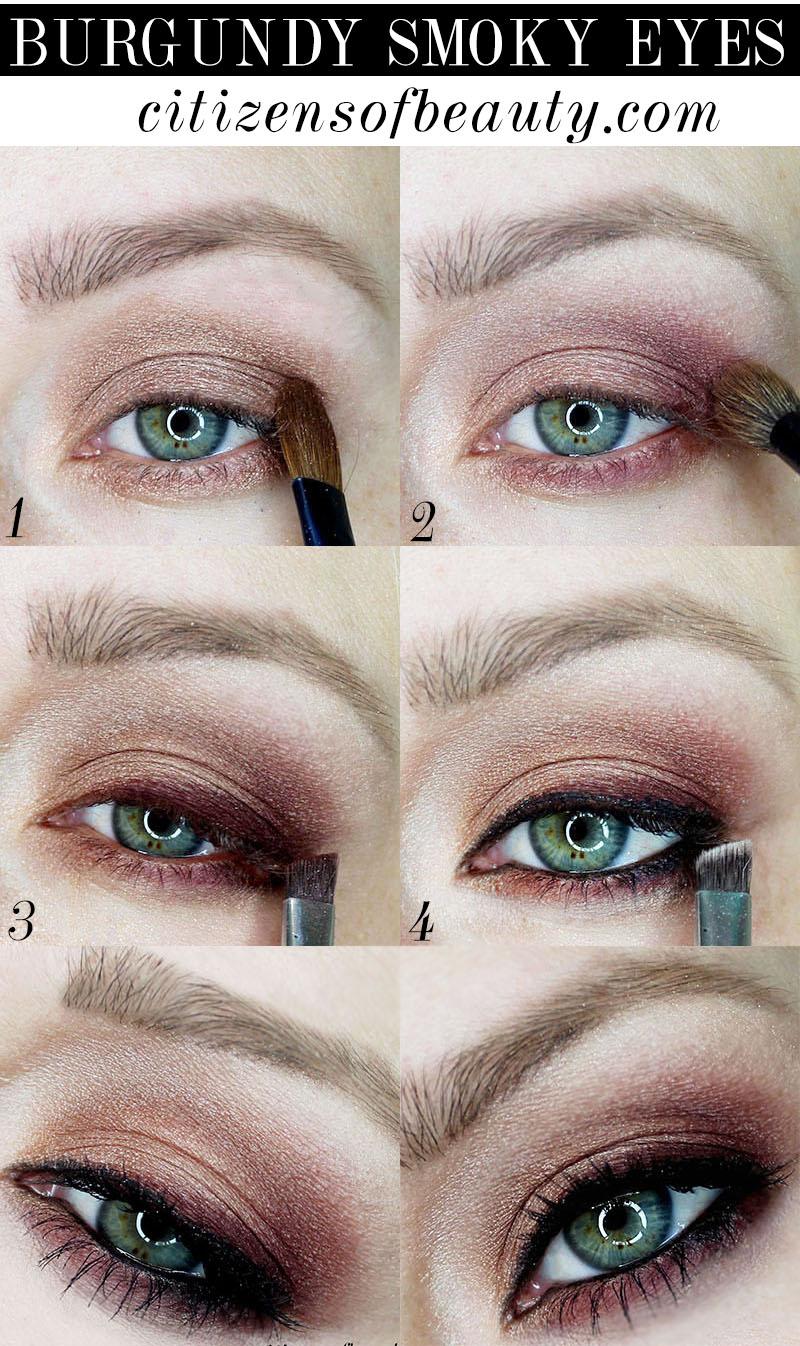 olivia wilde burgundy eye makeup from the golden globes