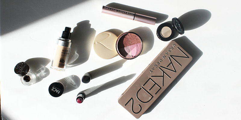 most used products from a makeup artist