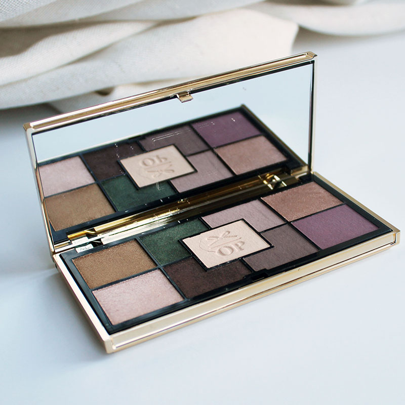valentines eye makeup look with olivia palermo smokey suede eyeshadow palette