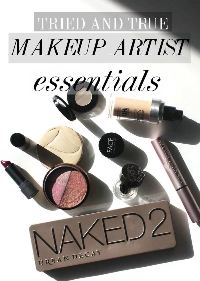 tried and true makeup artist essentials