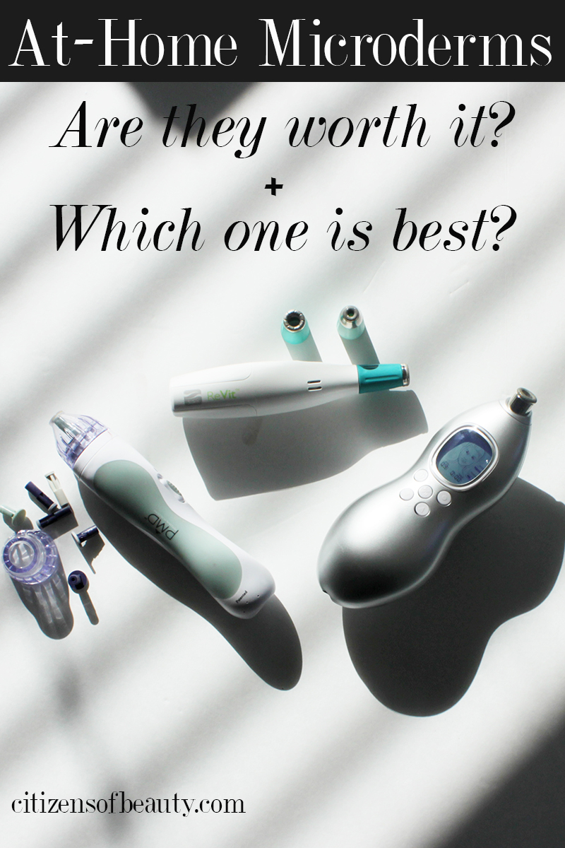 find out which at-home microderm machine you should get with this thorough review