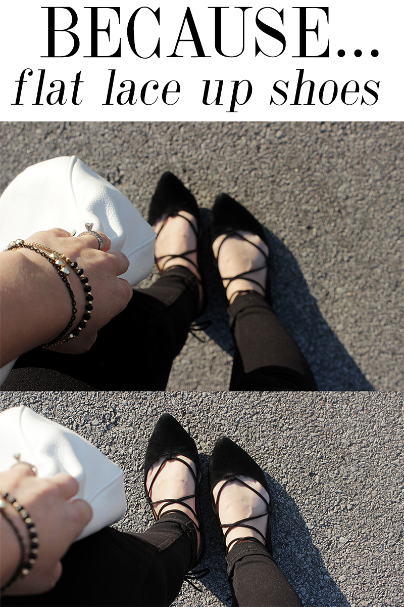 flat lace up shoes are the shoe trend for spring 2016