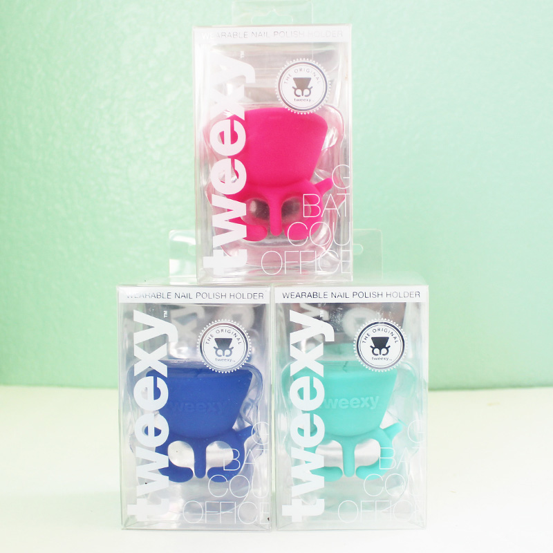 tweexy is the the coolest new wearable nail polish holder