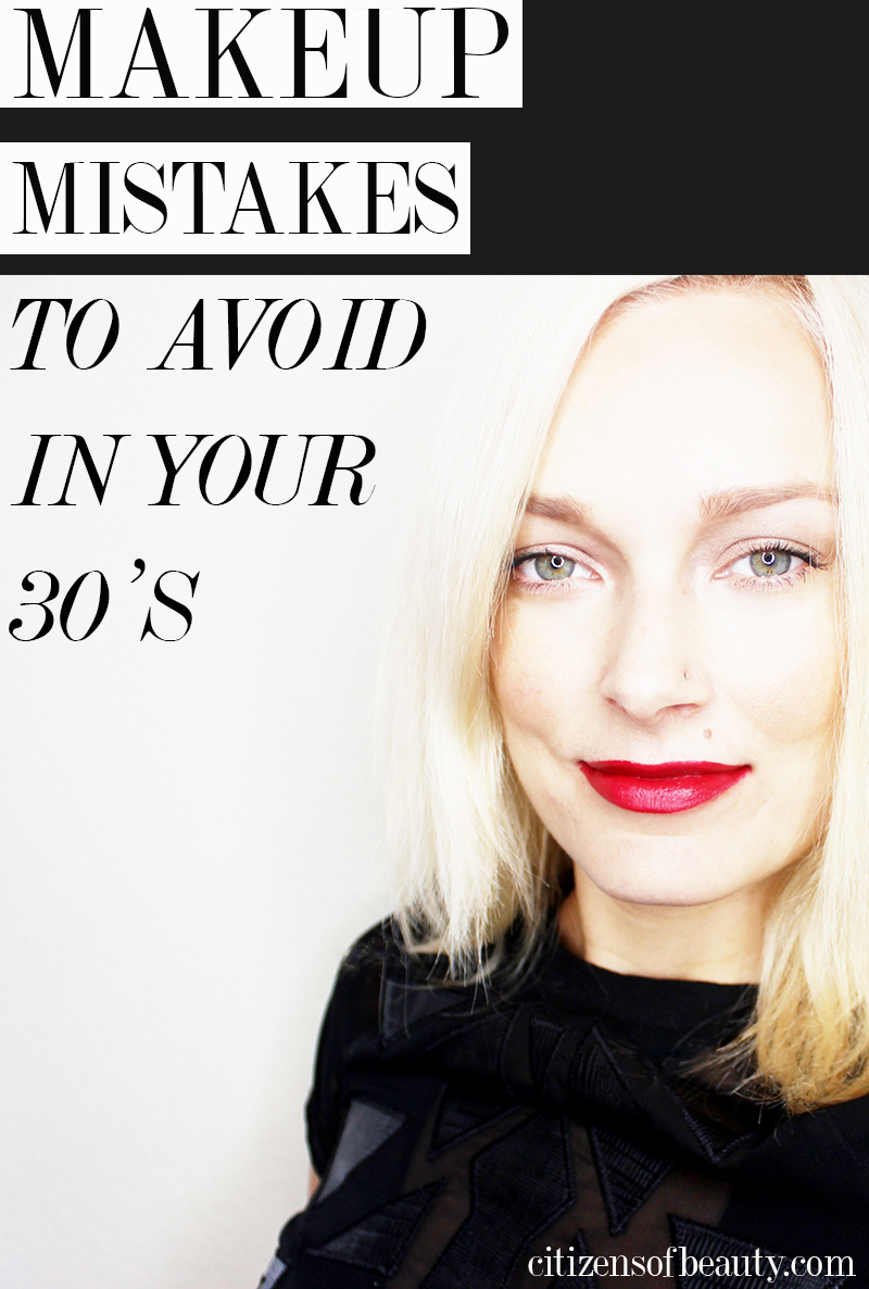 Makeup mistakes you should avoid in your thirties