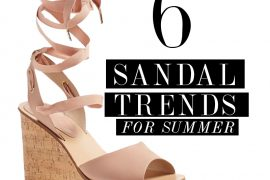 popular SANDAL TRENDS FOR SUMMER