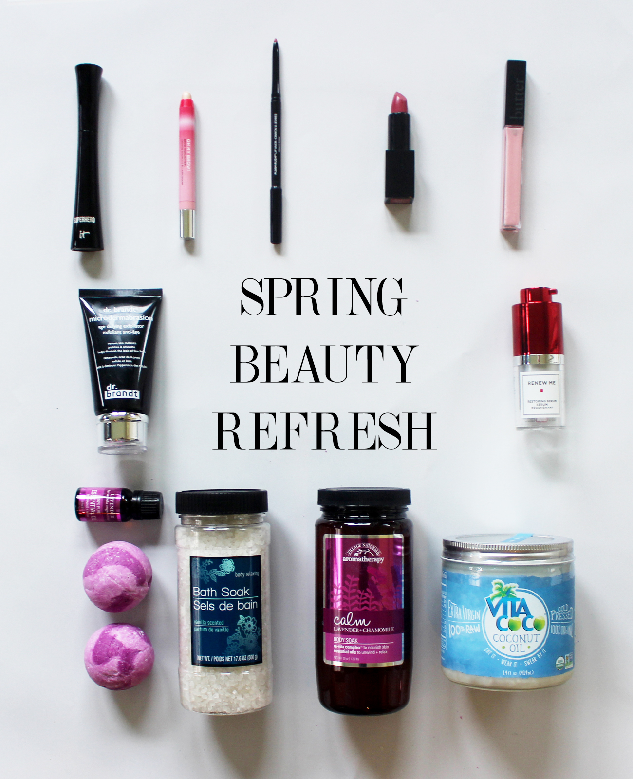 update your spring beauty routine copy