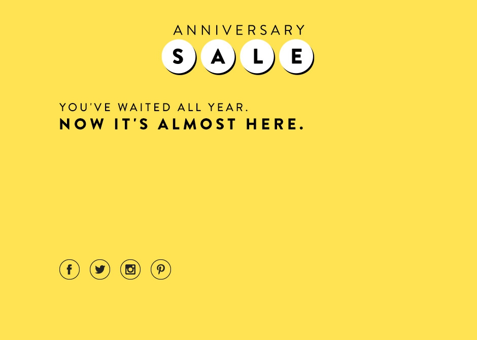Nordstrom Anniversary Sale 2016 Dates and details