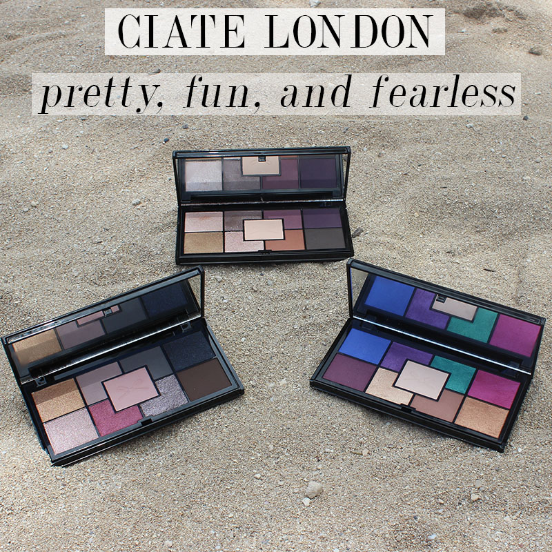 Ciate London Pretty, Fun, and Fearless Palettes