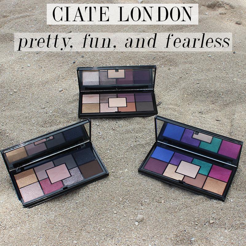 Ciate London Pretty, Fun, and Fearless Palettes
