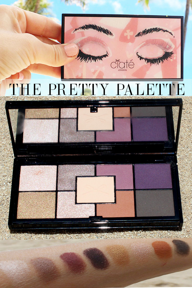 Ciate London The Pretty Palette review and swatches