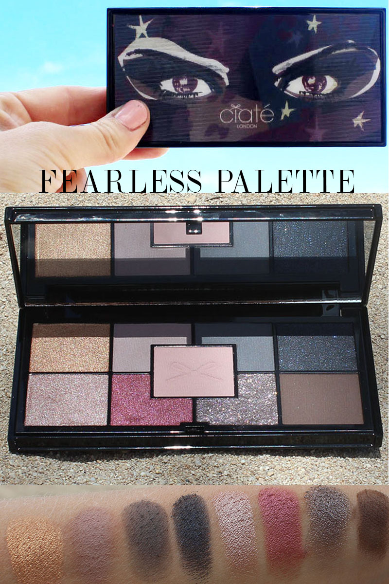 Ciate London The fearless Palette review and swatches