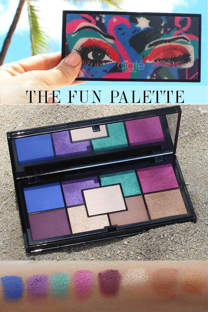 Ciate London The fun Palette review and swatches
