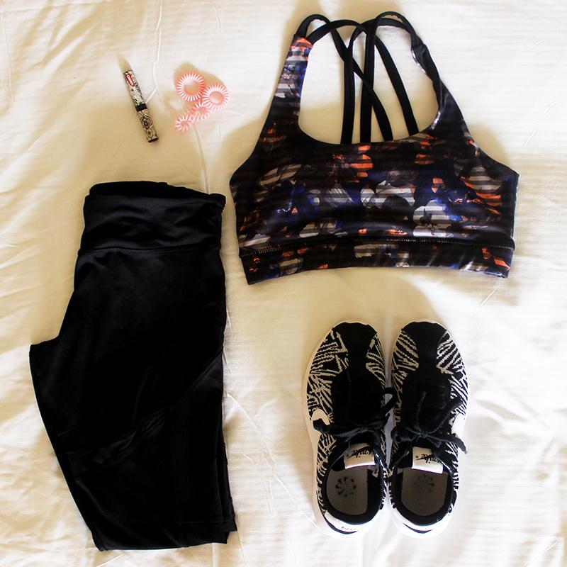 Hilton Honolulu Hawaii Travel workout wear