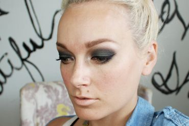 Urban Decay Smoky Makeup Look with Smoky palette