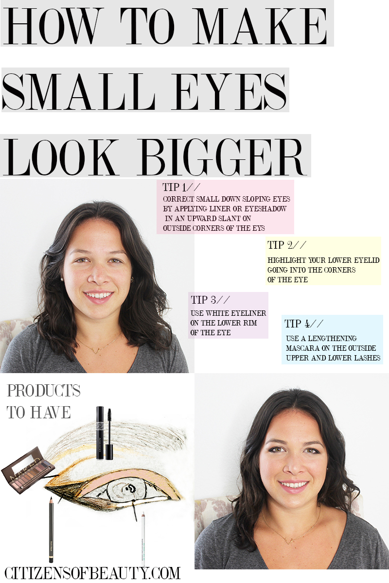 Learn how to make your small eyes look bigger with these simple tips and tricks!