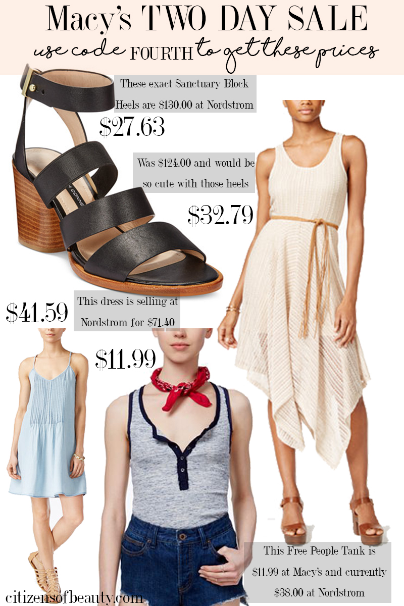 MACY'S 2 DAY 4TH OF JULY SALE! best finds under $50