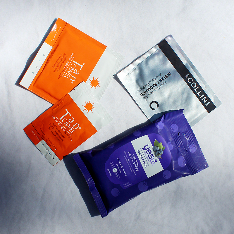 pack wipe on skincare for travel