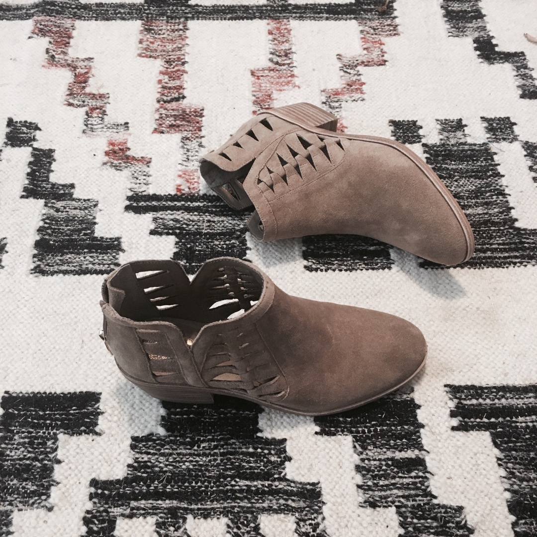 Check out these boots for fall 2016! They are cutouts, comfy, and can be dressed up or down! Totally scoring!
