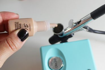 how to airbrush your makeup at home with a basic kit