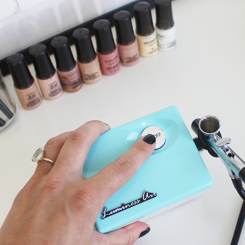 how to use your at home airbrush machine