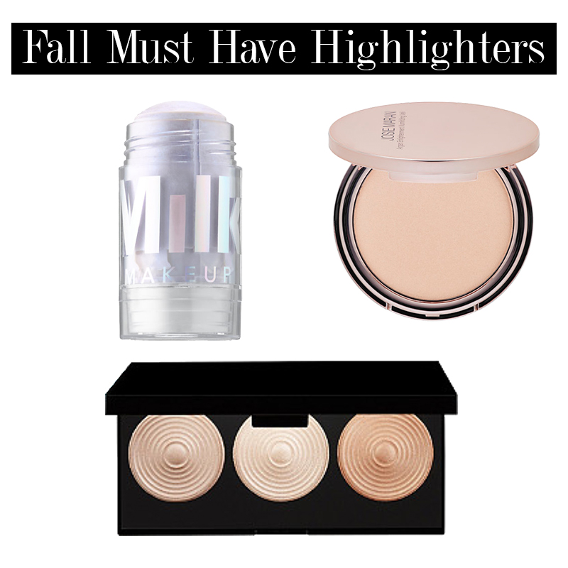 transition to fall makeup with these must-have highlighters