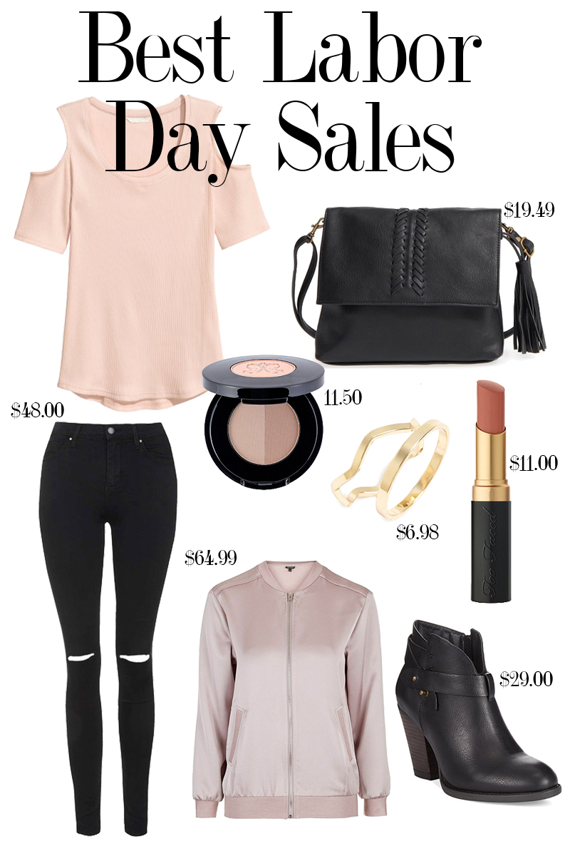 Shop these amazing labor day sales from Nordstrom, Macy's, H&M and more for beauty and Fashion !