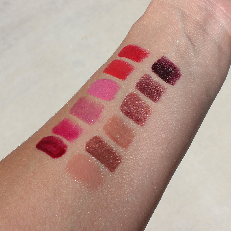 Blackmail Urban Decay Vice Lipstick Palette Swatches