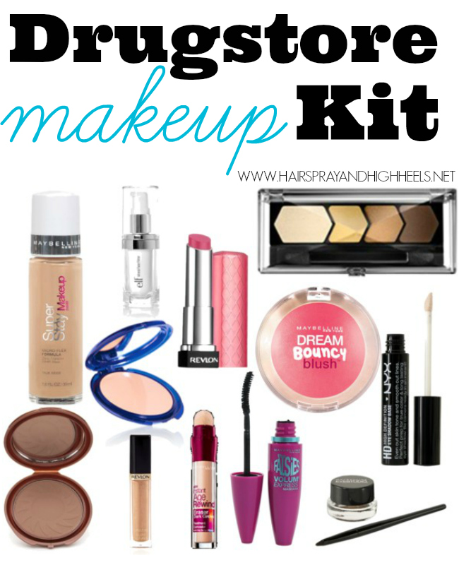 basic makeup essentials from drugstore