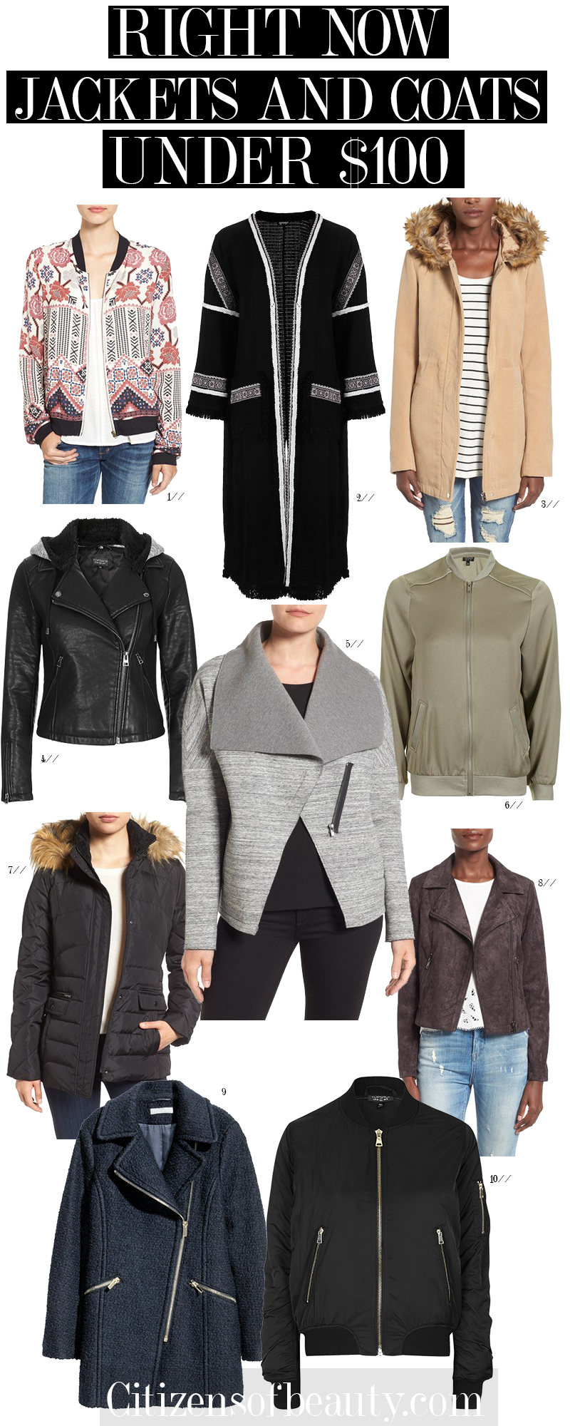 Shop the top jackets and coats that are popular right now!