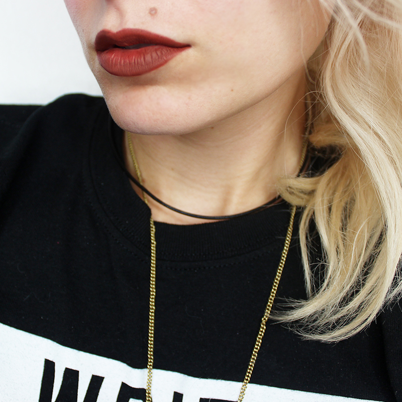 Wearing Kat Von D Liquid Lipstick review and swatches