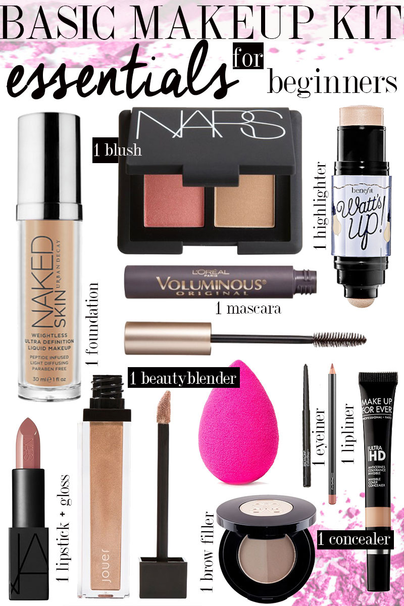 Beginners Makeup Kit Essentials