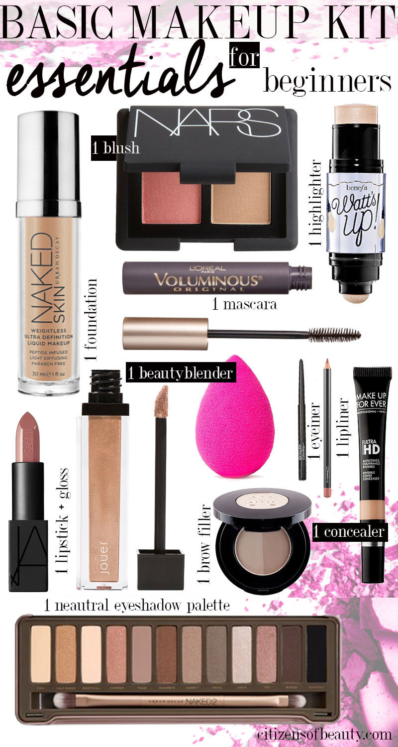 Makeup Shopping list for the makeup and beauty beginner. Get all of your makeup shopping