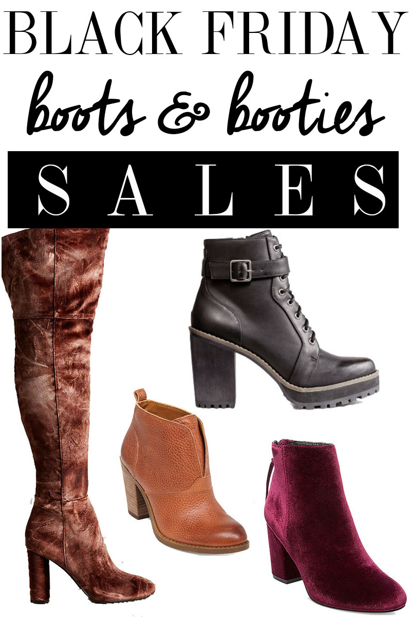 Black Friday Boots and Booties sale for 2016