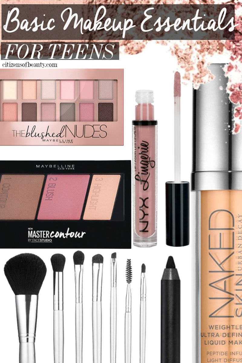 Basic Makeup for Teens that are essential