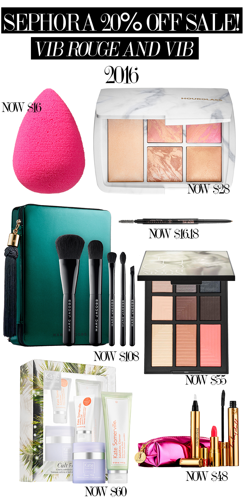 Sephora VIB Rouge and VIB 20% off sale starts now! Get the coupon code and shopping list essentials.