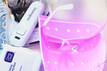 acne light therapy at home use