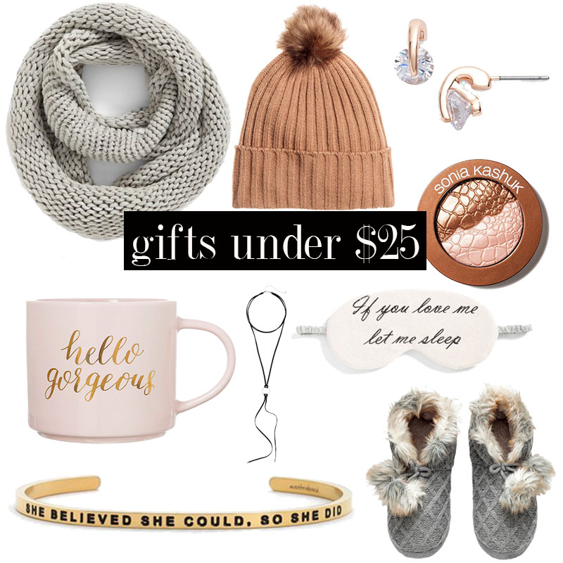 Amazing holiday gifts for women under $25