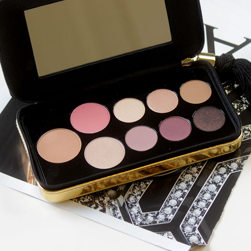 review of the Marc Jacobs Holiday makeup palette